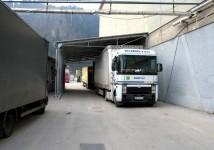Nadstrešek za kamion
