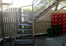 Jeklene zunanje stopnice