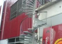 Okrogle zavite stopnice