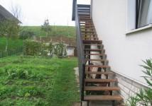 Zunanje stopnice ravne