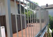 Vrtna ograja iz vroče pocinkanega železa