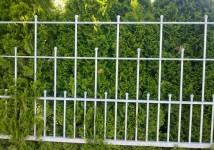 Vrtna ograja v 3 nivojih