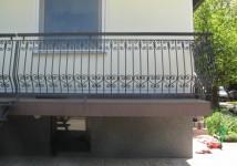 Jeklena balkonska ograja