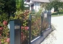Jeklena vrtna ograja