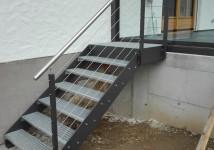 Kovinske zunanje stopnice