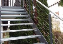 Zunanje kovinske stopnice